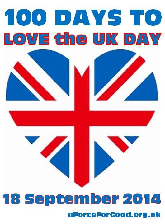 100 Days to Love the UK Day.