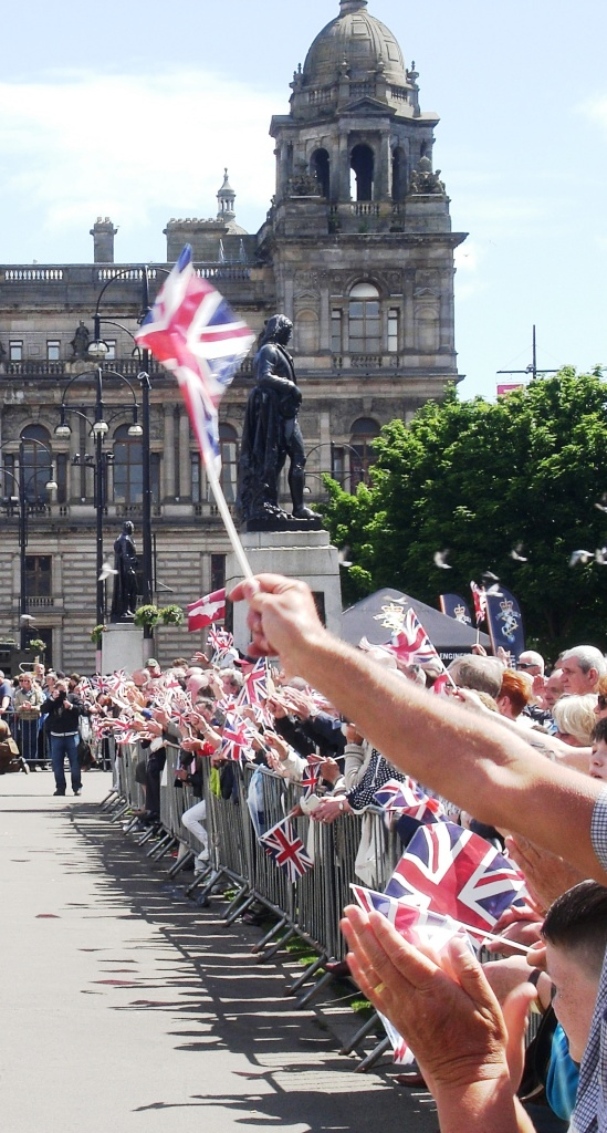 Armed Forces Day, George Square, Glasgow, 27-6-15. Copyright Alistair McConnachie.