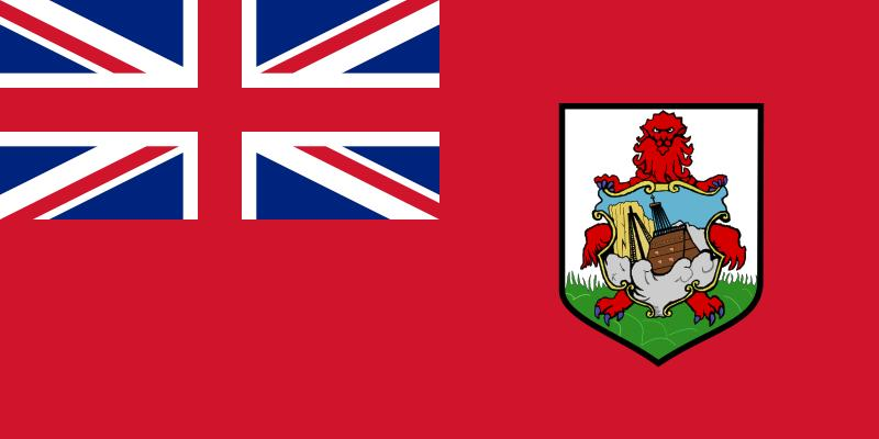 The flag of Bermuda