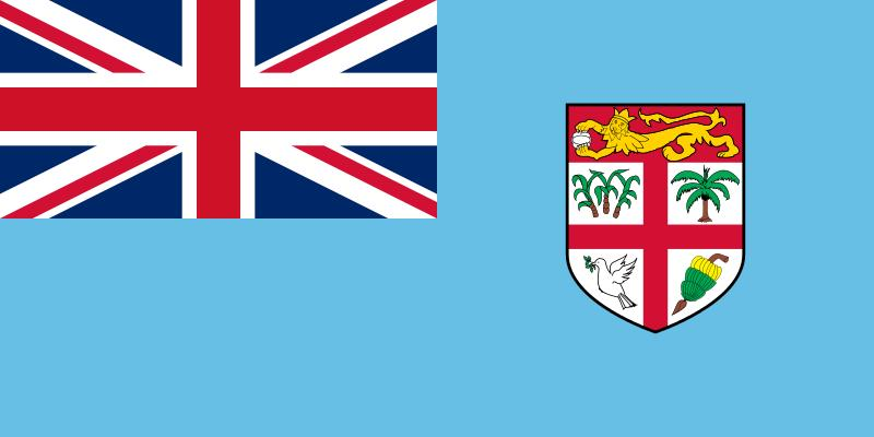 The flag of Fiji