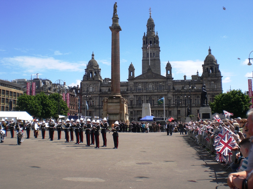 Armed Forces Day, Glasgow, 27-6-15. Pic copyright of Alistair McConnachie