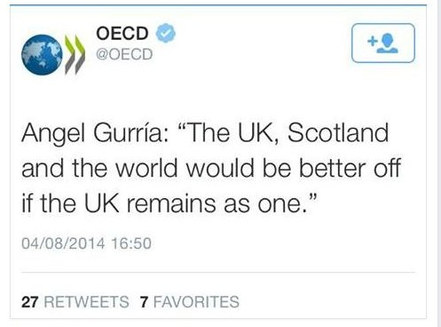 The world would be better off if the UK remains as one.