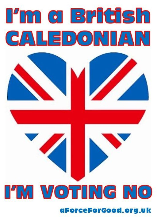 I'm a British Caledonian. I'm Voting No.