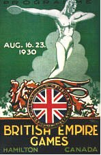The first British Empire Games 1930