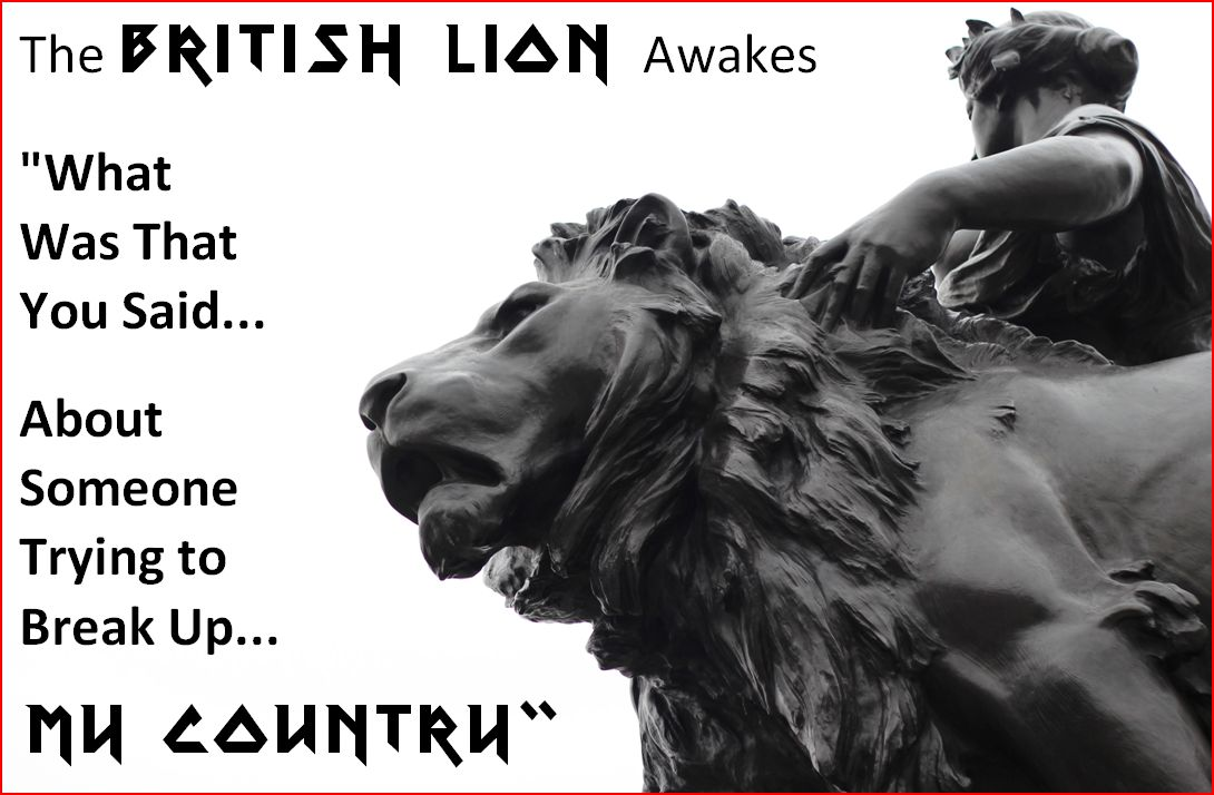 The British Lion Awakes