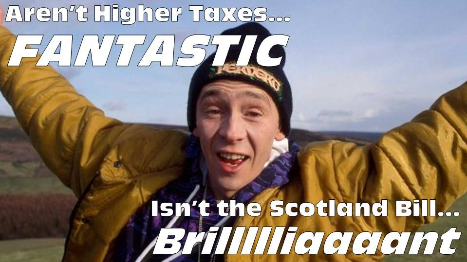 Aren't Higher Taxes Fantastic
