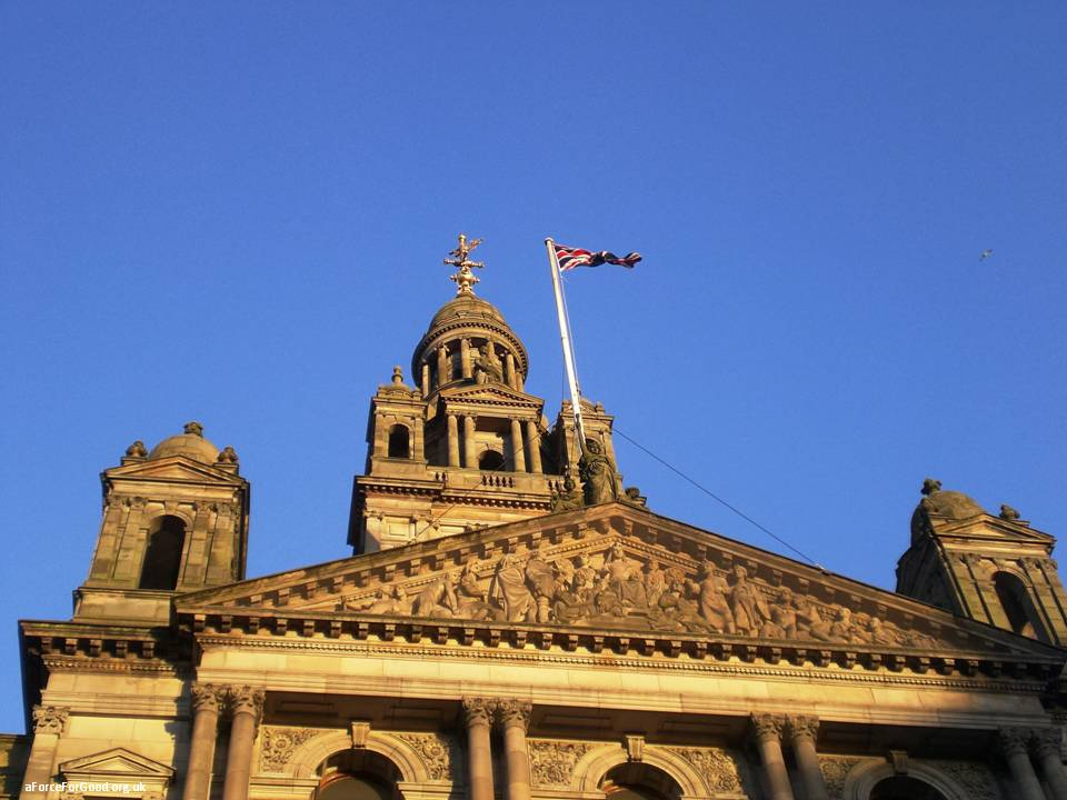 Glasgow City Chambers. Copyright Alistair McConnachie.