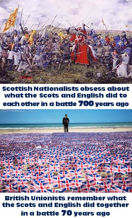 Bannockburn and D-Day Comparison