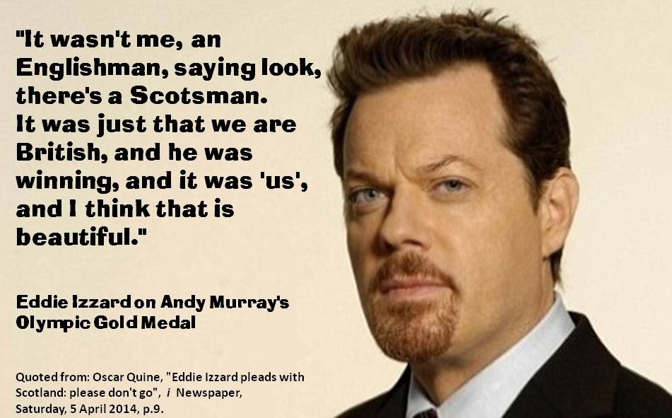 Eddie Izzard on Beautiful Britishness