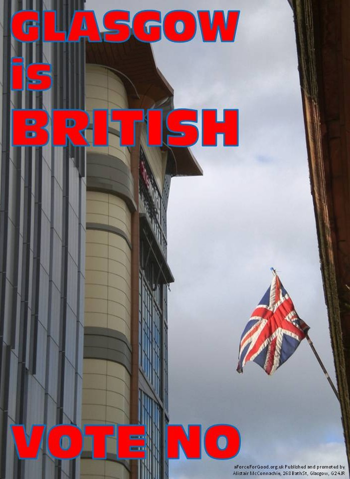 Glasgow is British. Vote No.
