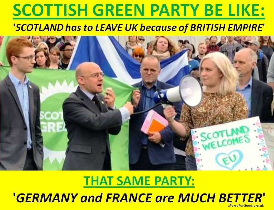 Greens are Separatists
