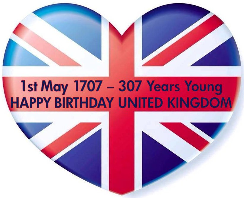 Happy Birthday United Kingdom