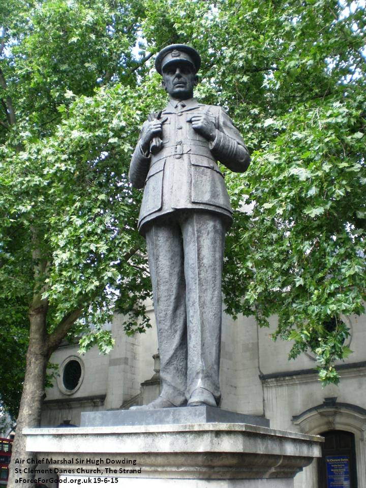 Air Chief Marshal Sir Hugh Dowding. Copyright Alistair McConnachie 19-6-15.