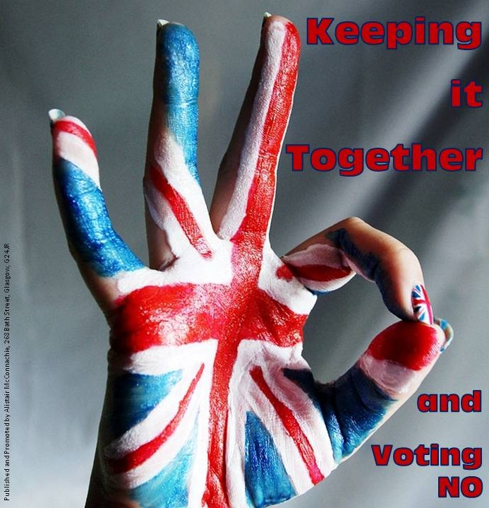 Keeping it Together and Voting No.