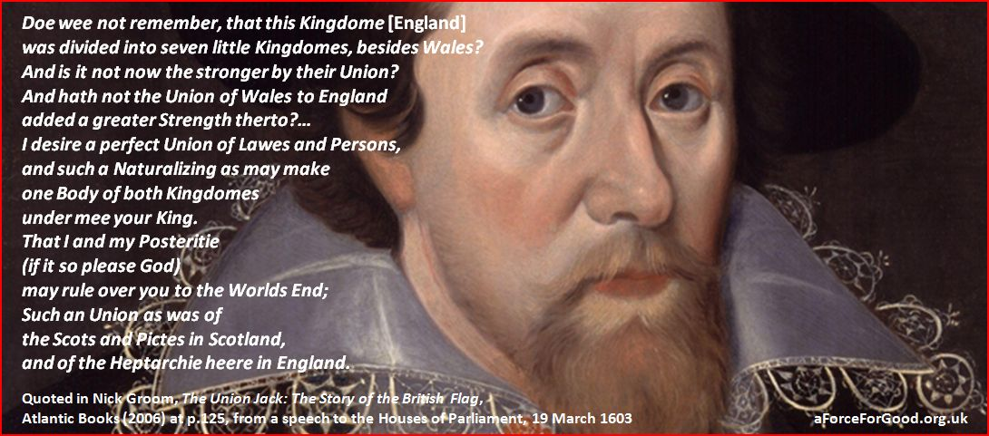 KIng James 1 of Great Britain