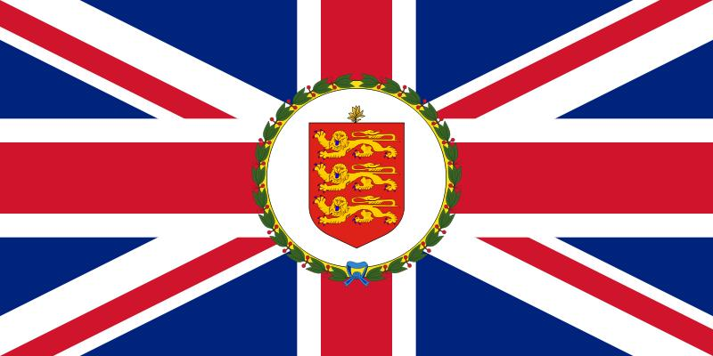 The flag of the Lieutenant Governor of Guernsey