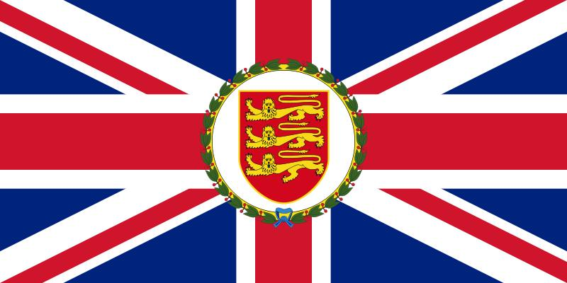 The flag of the Lieutenant Governor of Jersey