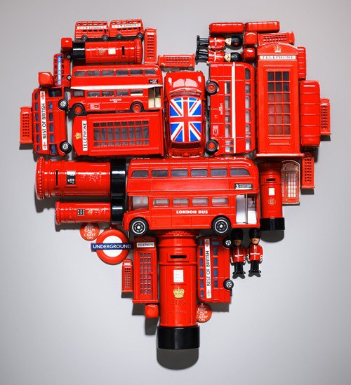 The Summer of London Heart design by Kyle Bean at https://kylebean.co.uk/