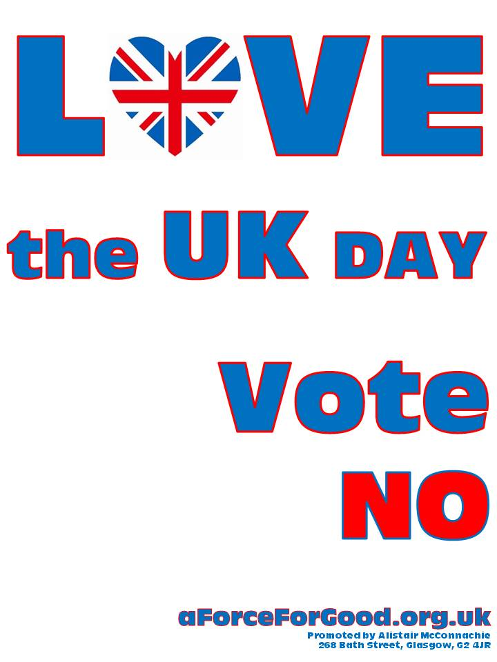 Love the UK Day. Vote No