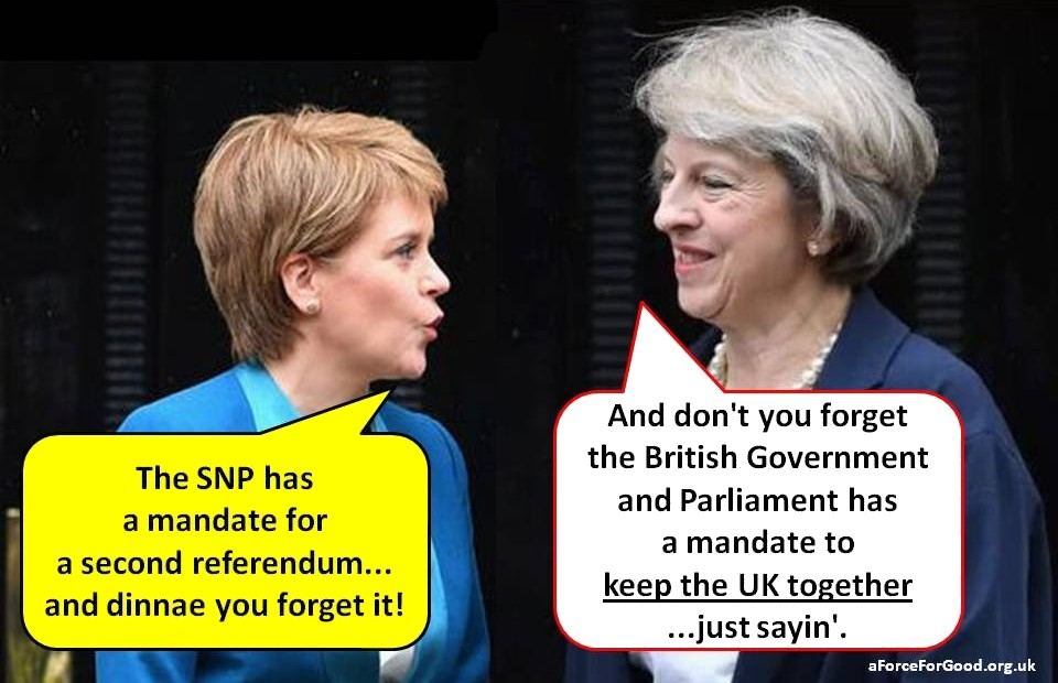 The PM's Mandate is Greater than Sturgeon's mandate