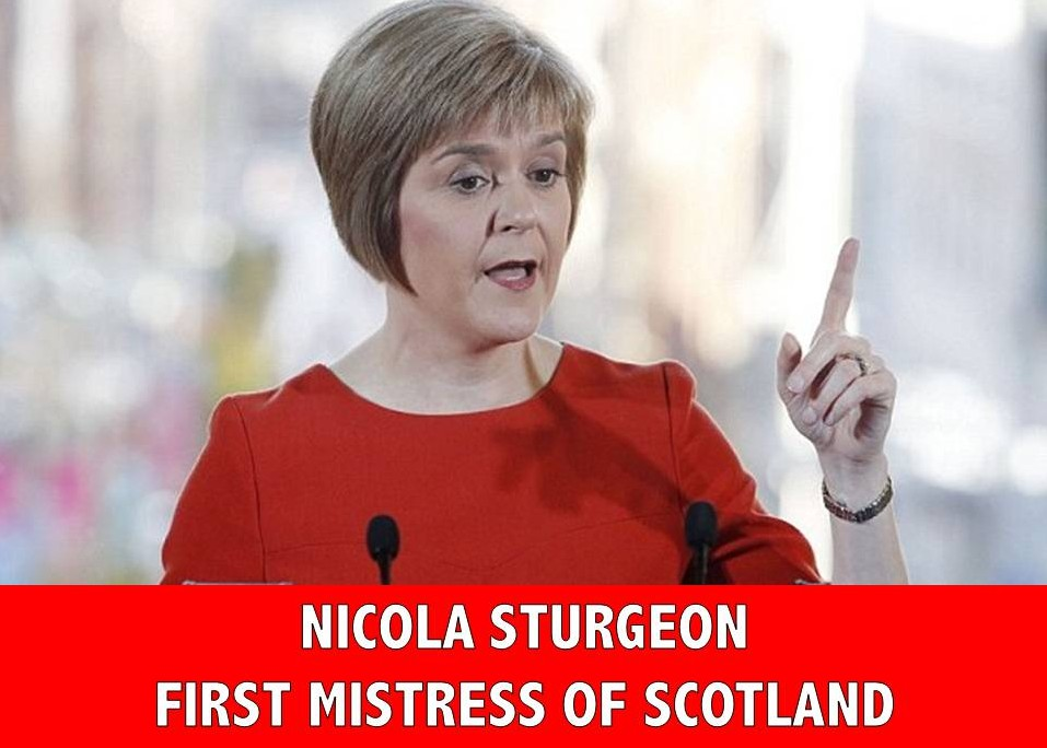 Nicola Sturgeon First Mistress of Scotland