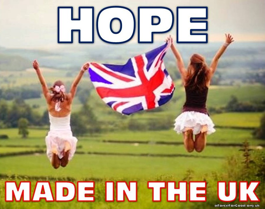 Hope. Made in the UK