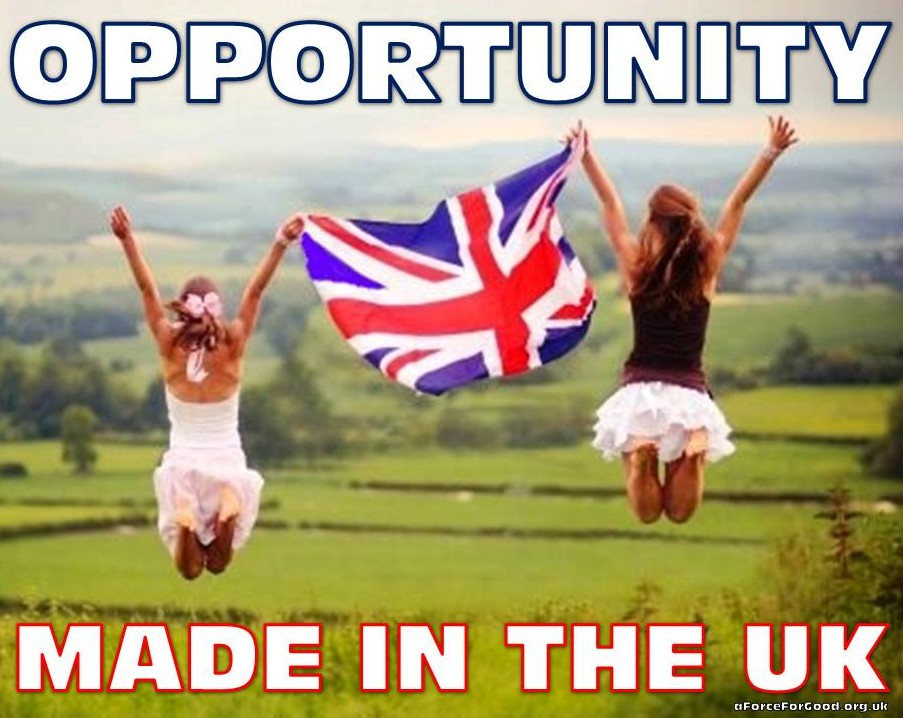Opportunity. Made in the UK