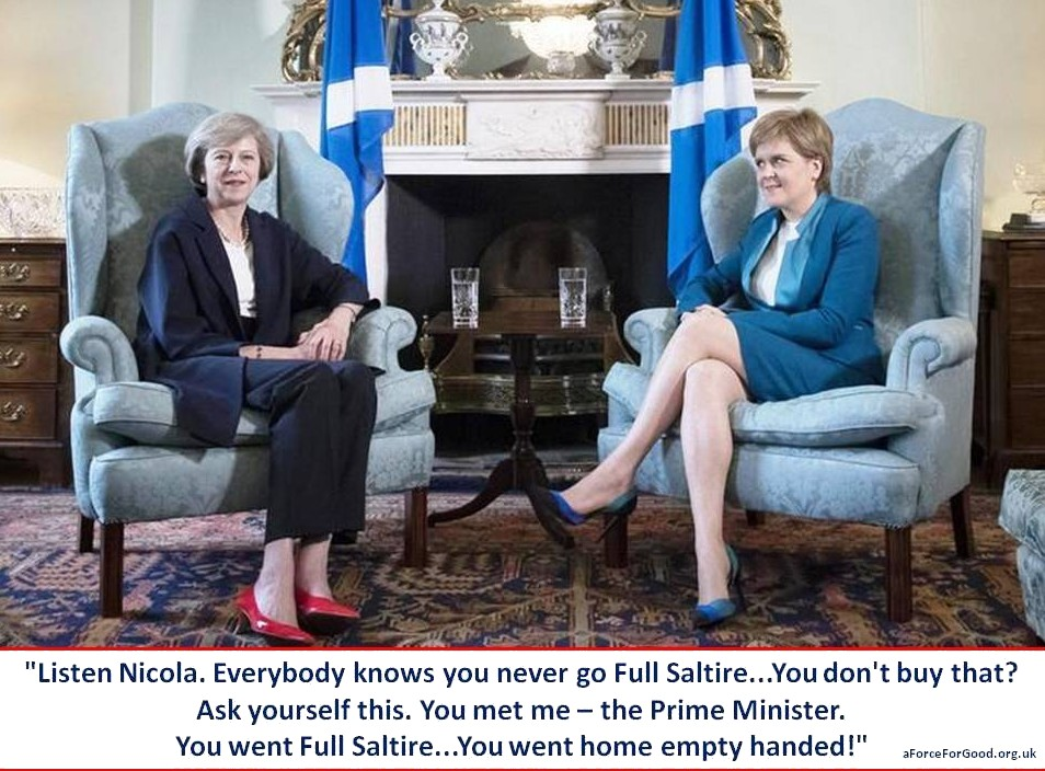 Never Go Full Saltire.