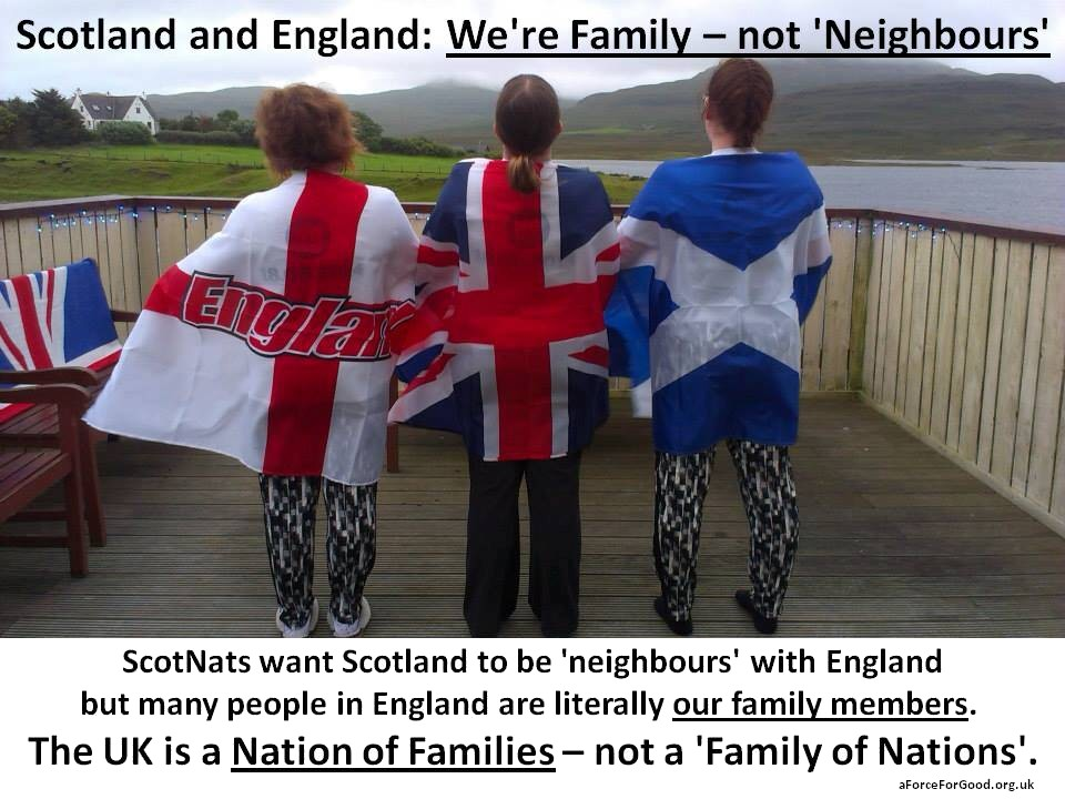 Nation of Families not Family of Nations