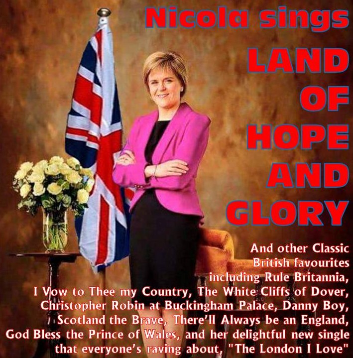 Nicola Sturgeon sings British Classics