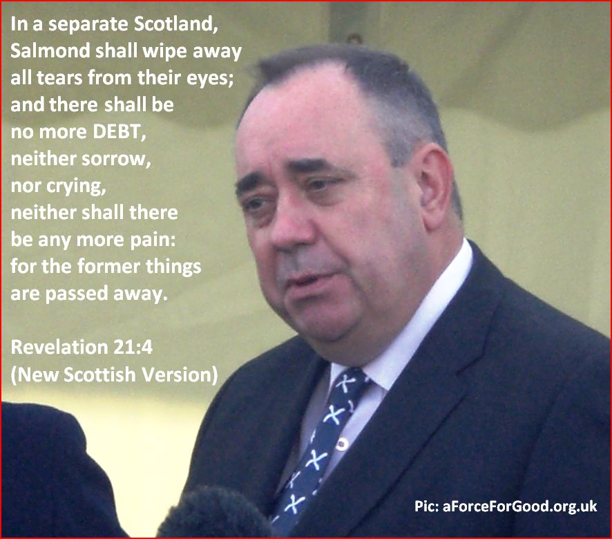 Salmond shall wipe away all tears from their eyes