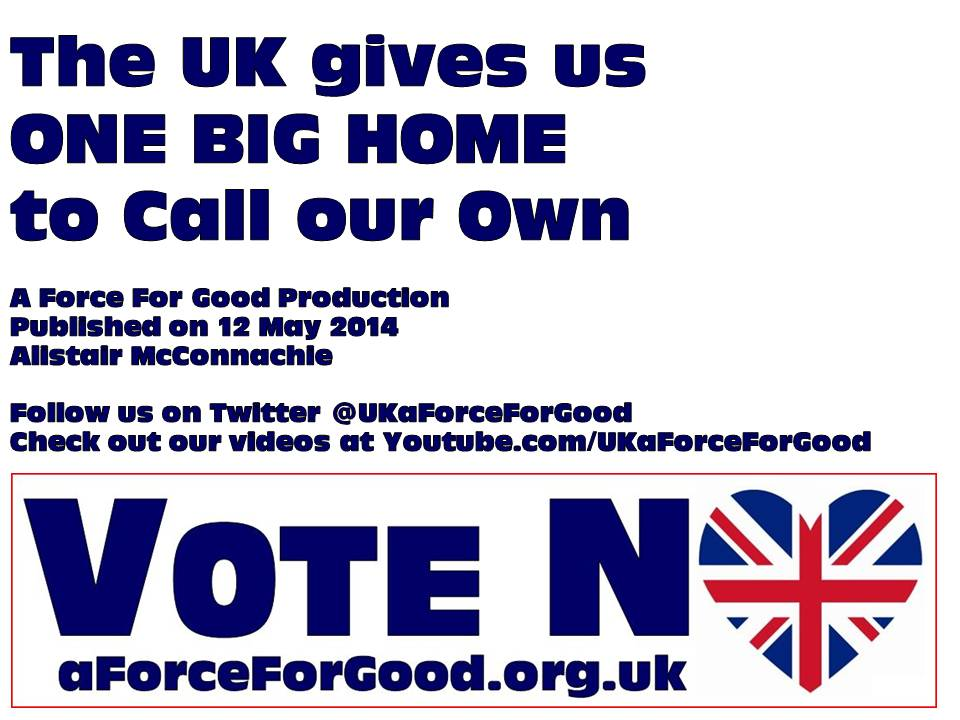 The UK Gives us One Big Home to Call our Own Video Outro Card