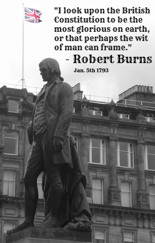 Robert Burns Statue, George Square, Glasgow, 28-6-12. Copyright of pic: Alistair McConnachie