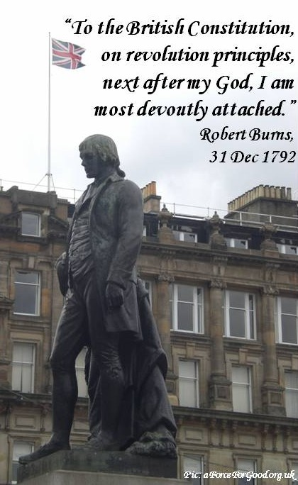 Robert Burns Statue, George Square, Glasgow