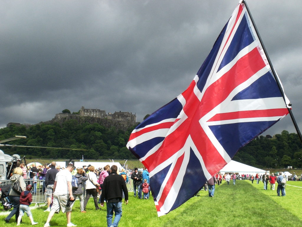 Stirling Castle on Armed Forces Day 28 June 2014. Photograph copyright of Alistair McConnachie.