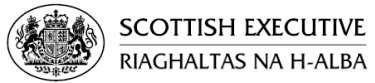 Scottish Executive logo