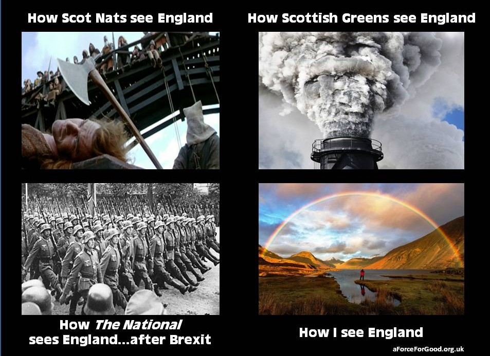 How Nats See England