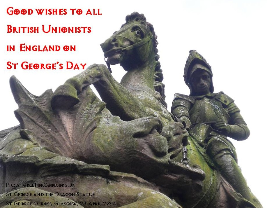 St George and the Dragon Statue, St George's Cross, Glasgow
