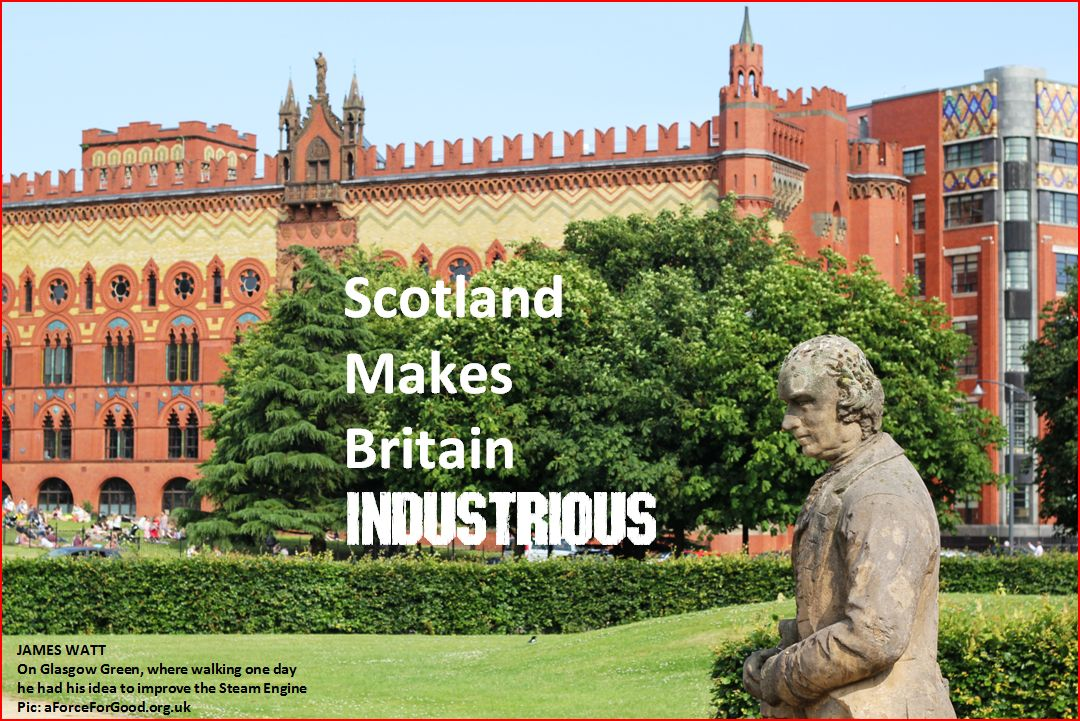 Scotland Makes Britain Industrious