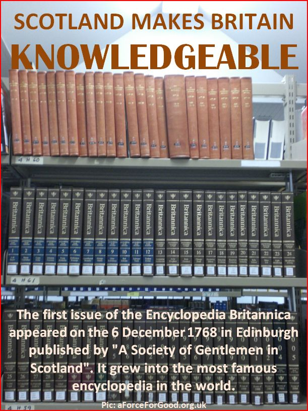 Scotland Makes Britain Knowledgeable