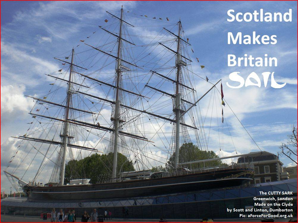 Scotland Makes Britain Sail