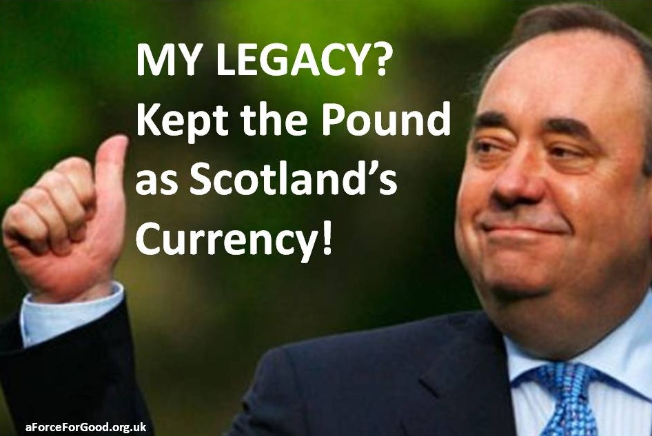 Salmond's Legacy Kept the Pound