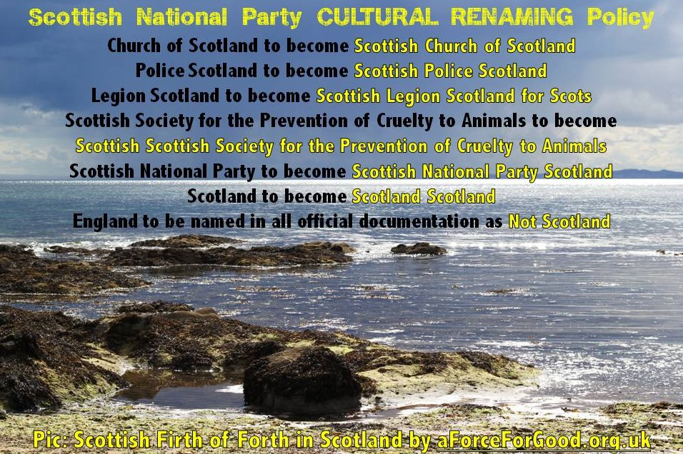 SNP Cultural Renaming Policy