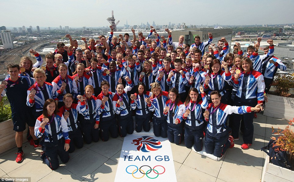 Medal Winners of Team GB