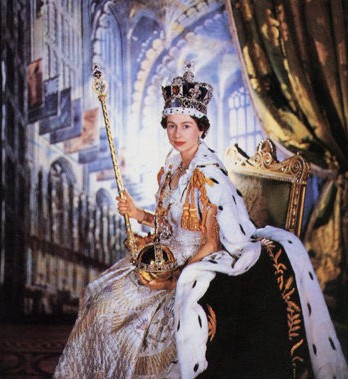 Cecil Beaton pic of the Queen, Coronation Day