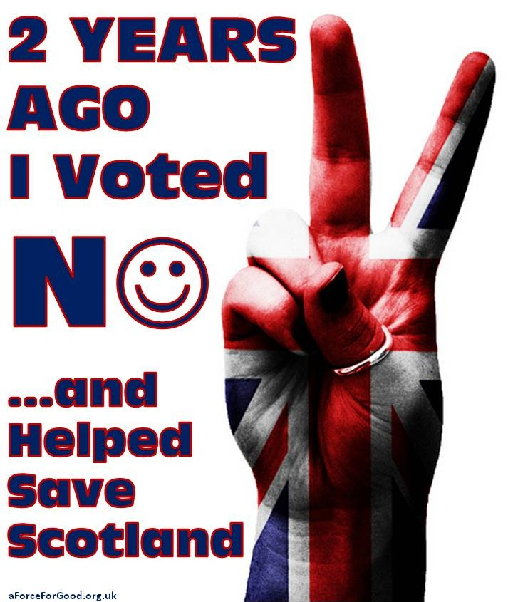 Two Years Ago, I Voted No, and Helped Save Scotland