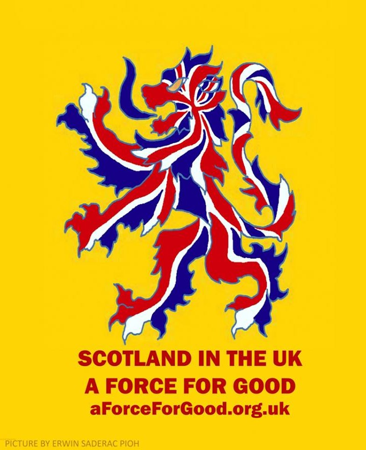 Scotland in the UK: A Force For Good.