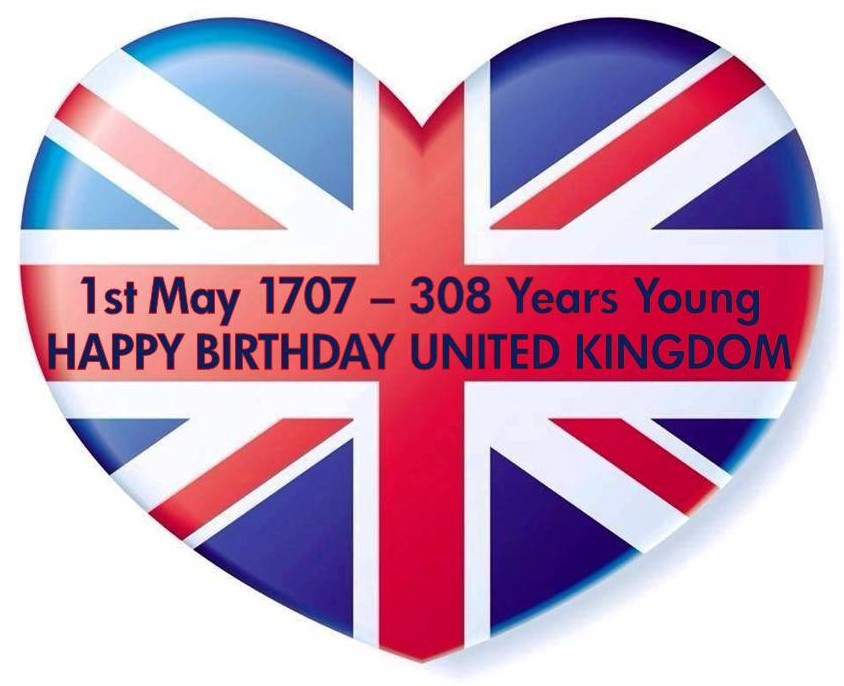 Happy Birthday United Kingdom 2015.