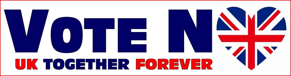 Vote No. UK Together Forever Banner