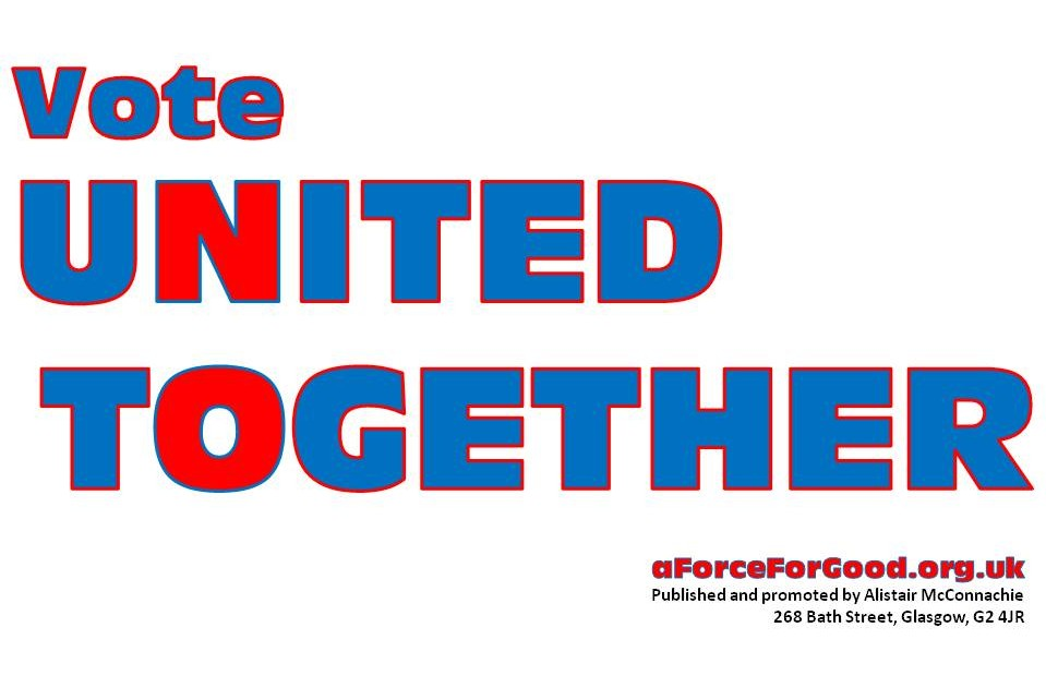 Vote United Together.